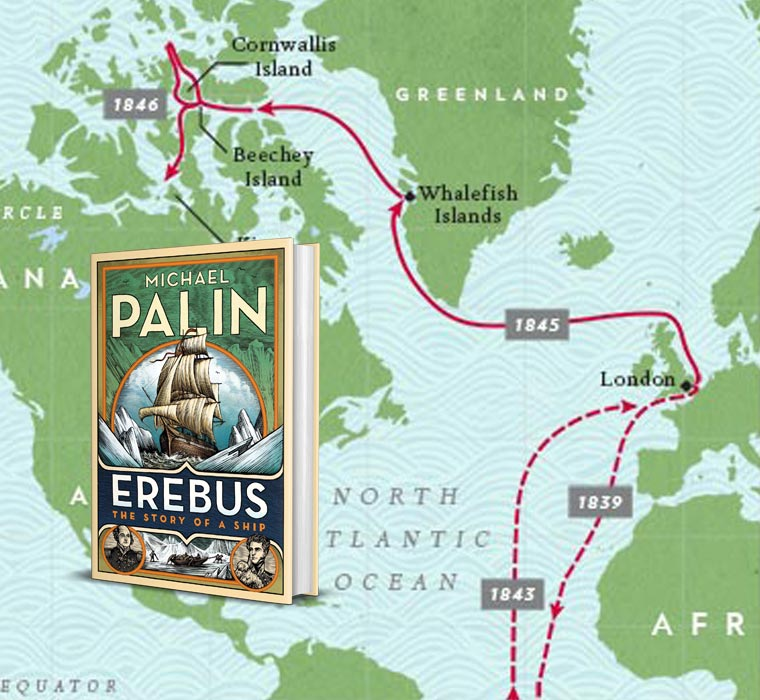 Erebus Interactive Map