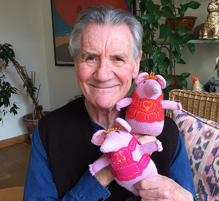 With Mother & Tiny Clanger